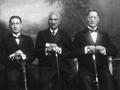 Haami Tokouru Ratana, Tupu Atanatiu Taingakawa Te Waharoa and Reweti Te Whena