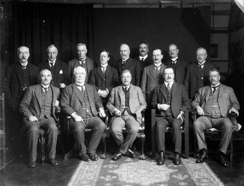 Members of the National ministry, 1916
