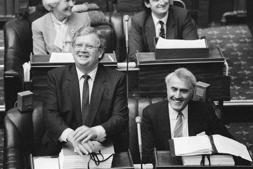 David Lange and Geoffrey Palmer