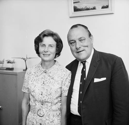 With Thea in 1972