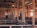 Inside the Homebush Station woolshed