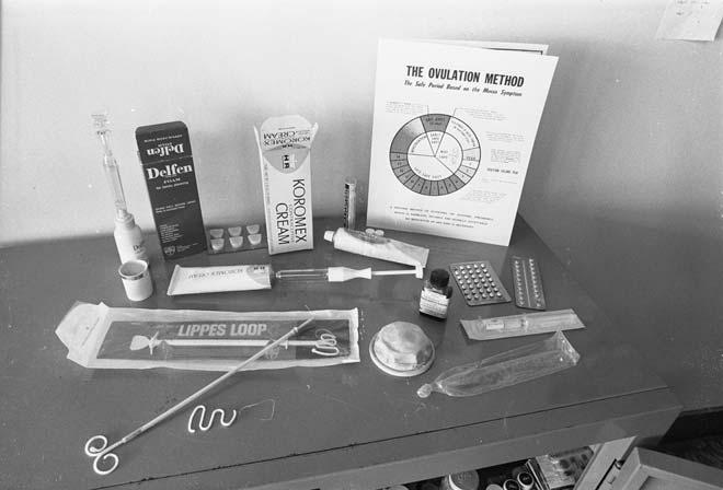 Contraceptive devices, 1974