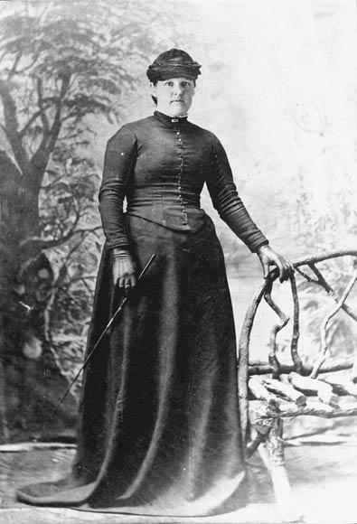 Pregnant woman, 1894