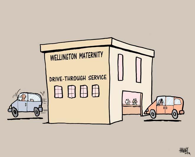 Drive-through maternity