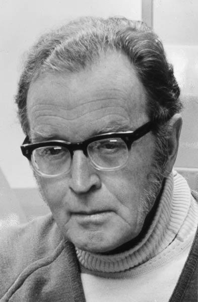Douglas Lilburn, around 1975