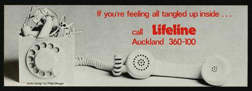 LifeLine flyer, 1982
