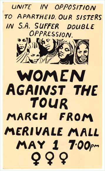 Women against the 1981 tour