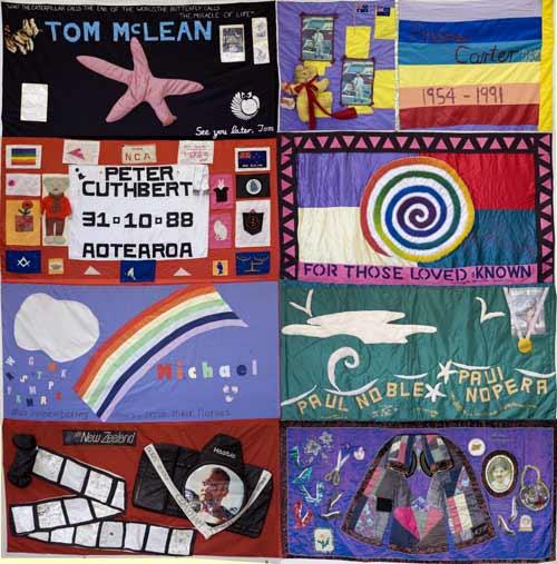 AIDS memorial quilts