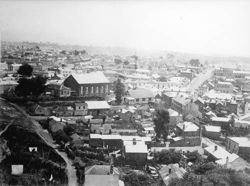 High Street Church, Auckland, 1848