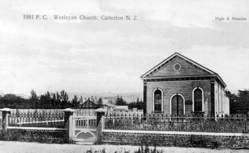 Wesleyan Church, Carterton, 1900s