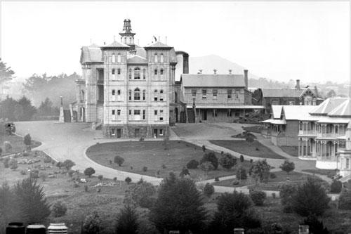 Auckland Hospital, around 1900