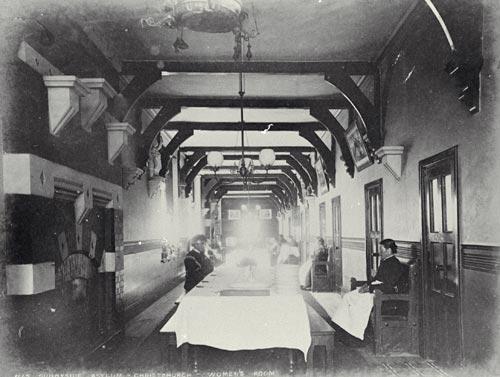 Women's Room, Sunnyside Asylum, about 1883