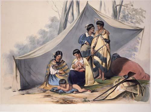 Te whaea Māori e whāngote ana