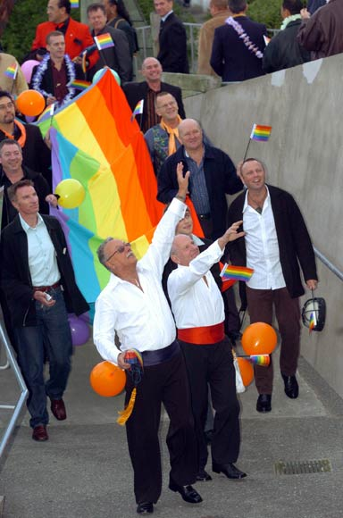 Civil union parade