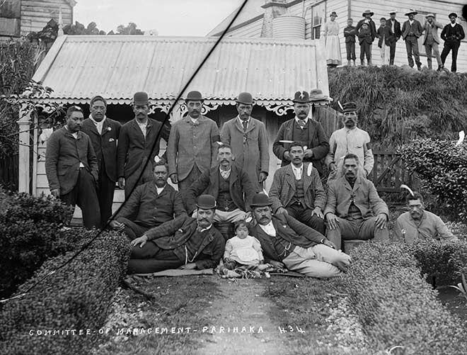 Parihaka management committee