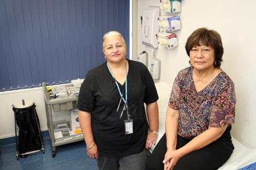 Drop-in maternity centre