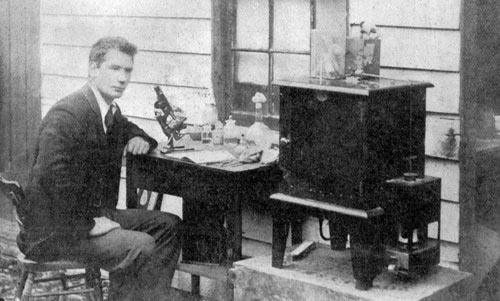 Bacteriologist John Gilruth, 1900
