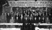 Delegates to the 1948 New Zealand Communist Party conference