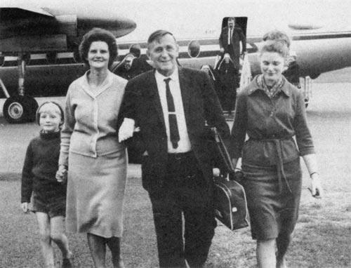 The Davies family, 1964