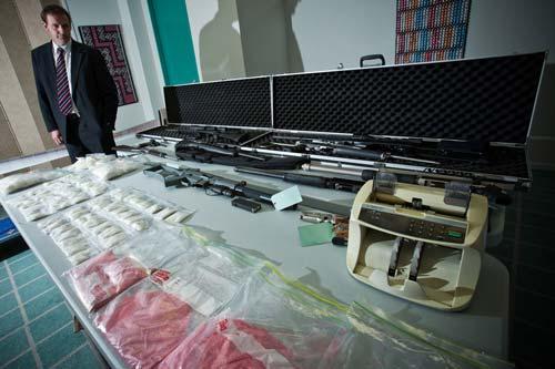 Organised crime seizure