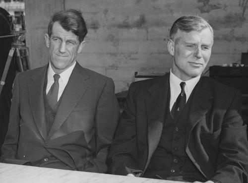 Hillary and Fuchs, 1958
