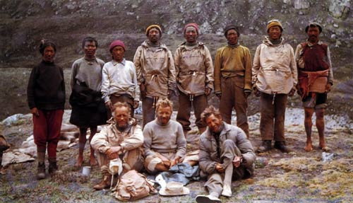 Cho Oyu expedition team, 1952