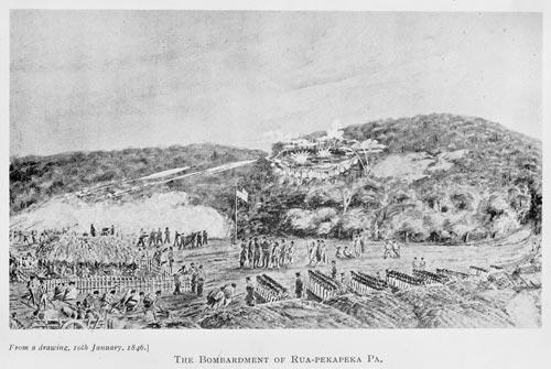 Ruapekapeka, 1845