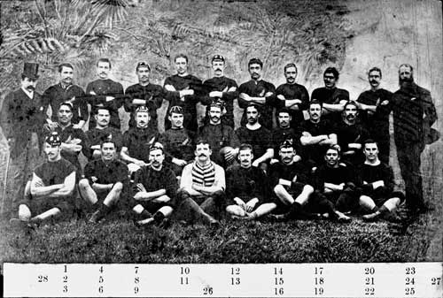 New Zealand Natives rugby team, 1889
