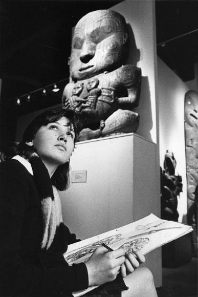 Te Māori exhibition, 1986