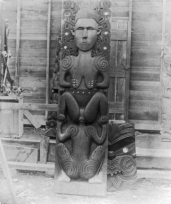 Hine-nui-te-pō and Māui
