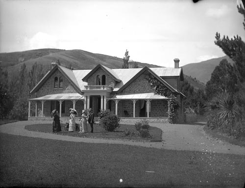 Englishman Thomas Marsden arrived in Nelson with h...