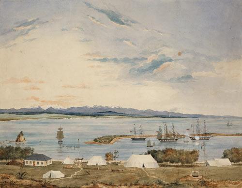 Nelson Haven, November 1841
