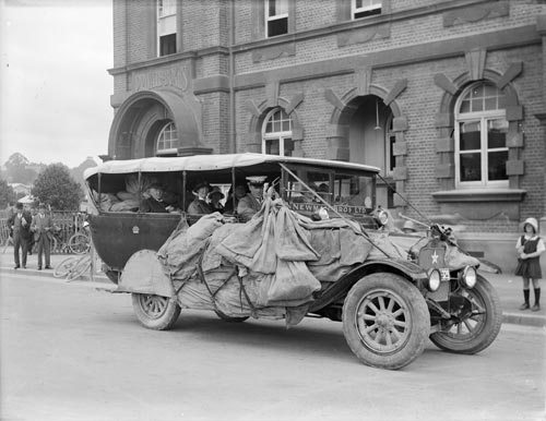 Newman Brothers service car, 1920s
