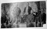 Members of the Eight Hour Day Committee, which organised the first Labour Day celebrations in 1890