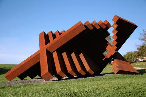 'Yantra for Mahana' sculpture.