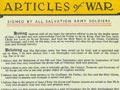 'Articles of war', 1931