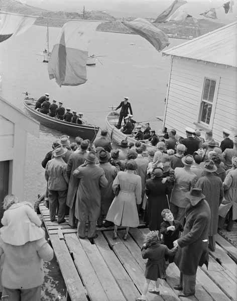 Sea Scouts, Wellington, 1951