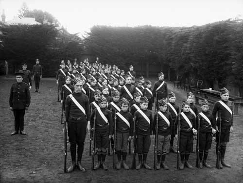 School cadets, 1910