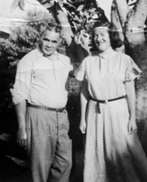 Pene Tuwhare and Jean McCormack