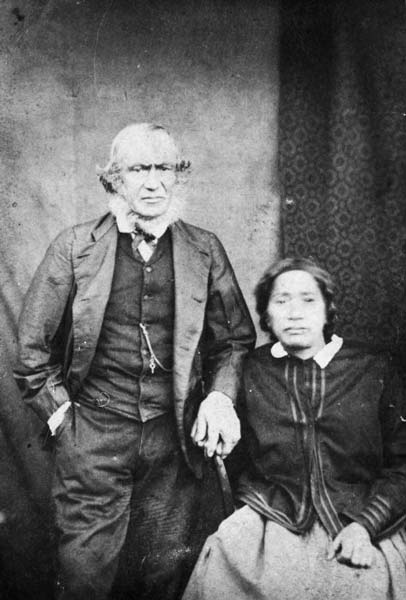 Whaler and wife