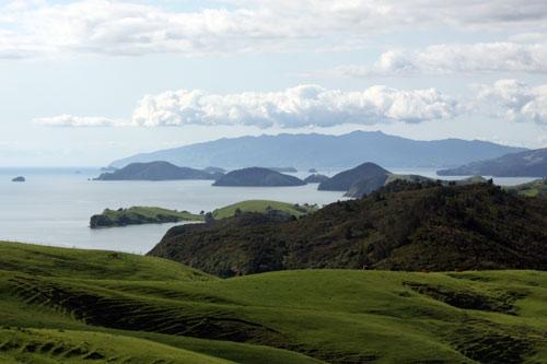Inshore islands and coast, Coromandel