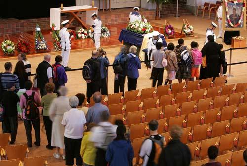 Sir Edmund Hillary's state funeral, 2008