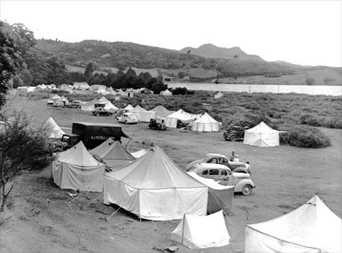 Ōhuka camp, Mercury Bay