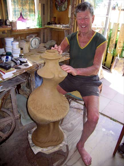 Coromandel artists: Barry Brickell