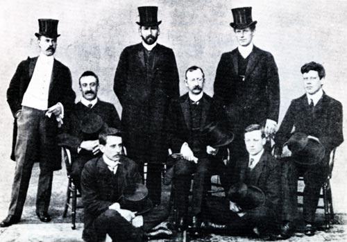 Executive council of the NZ Dental Association, 1906