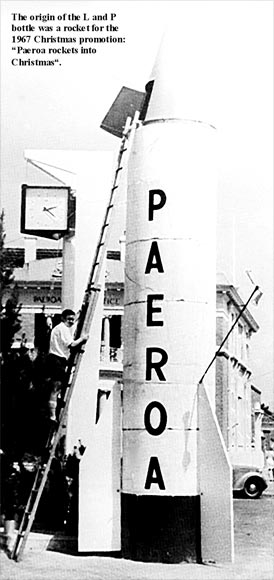 Paeroa: space rocket, 1967