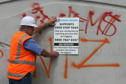 'Dob in a tagger' campaign
