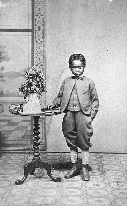 Ngātau Omahuru, the 'Fox boy'