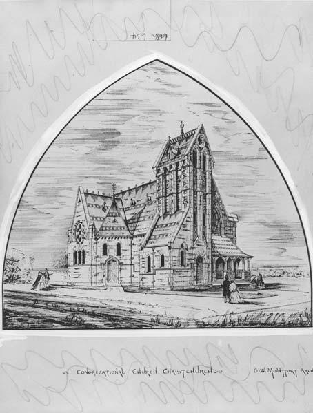 Trinity Congregational Church, Christchurch