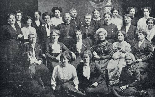 Unitarian Women's Club, Timaru, 1913